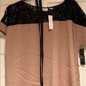 NWT ny & co tie waist dress